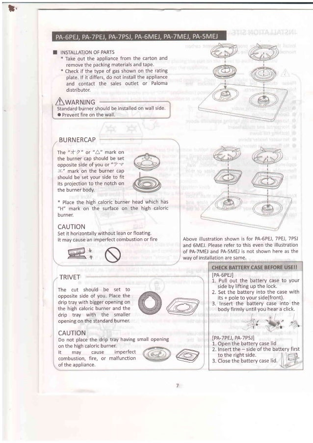 paloma instruction manual rh slideshare net Vin Diesel Paloma Paloma Bicalho