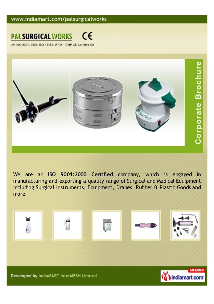 PAL SURGICAL WORKS, Delhi, Surgical and Medical Equipment