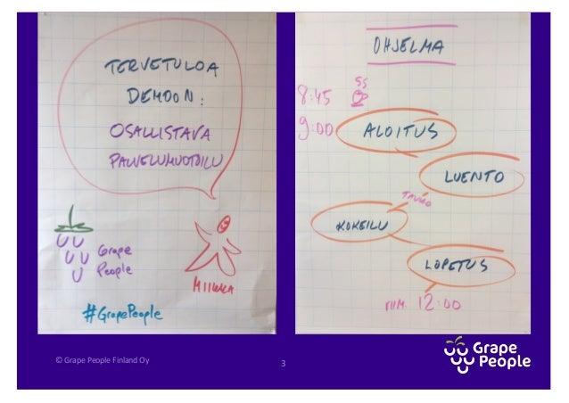 """""""Palvelumuotoilua osallistavasti"""" -demo Slide 3"""