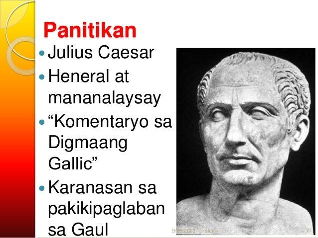 """Panitikan  Livy  Kompletong kasaysayan ng Roma -""""Annals""""  Tacitus  """"Germania""""  Tradisyon at kaugalian ng mga taga-Ger..."""