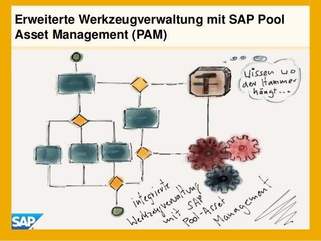 Erweiterte Werkzeugverwaltung mit SAP Pool Asset Management (PAM)