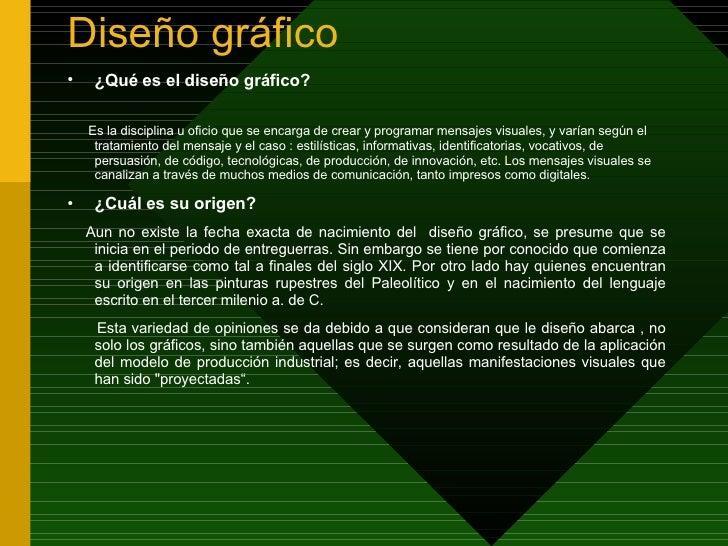 mensaje visual y diseño grafico