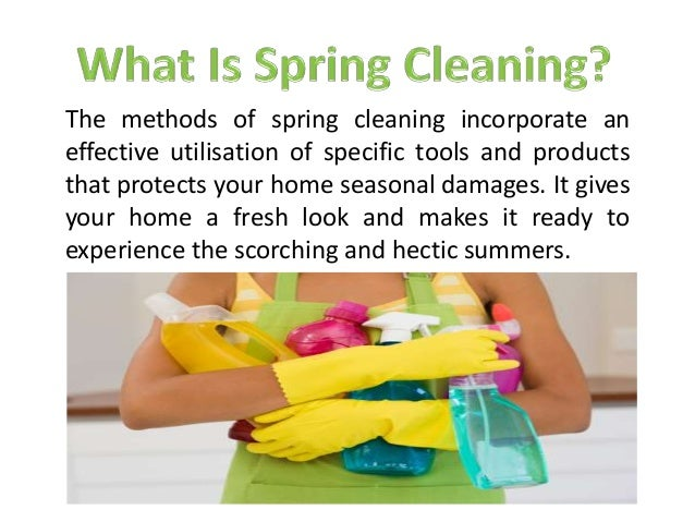 Spring Cleaning Amp Its Benefits