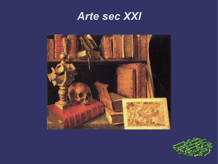 Arte sec XXI Título