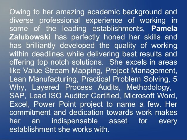 Owing to her amazing academic background and diverse professional experience of working in some of the leading establishme...
