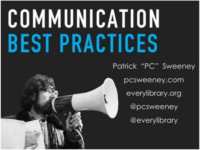Communication Best Practices for Libraries
