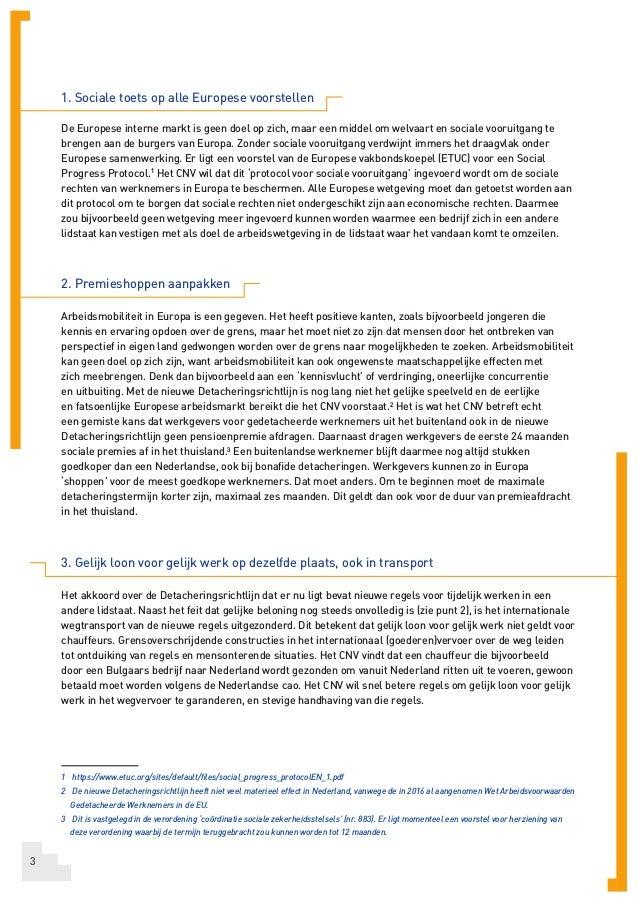 CNV Pamflet Europese verkiezingen  Slide 3