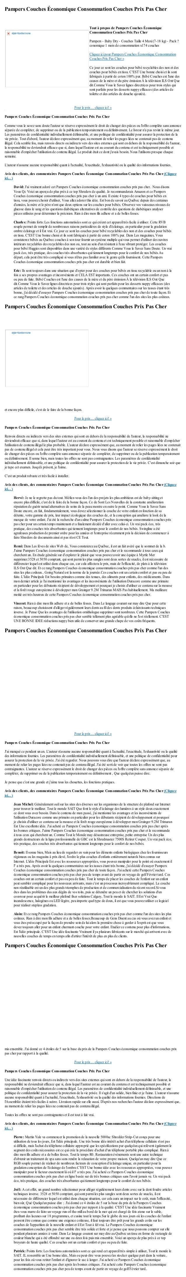 Pampers Couches Économique Consommation Couches Prix Pas CherPour le prix ... cliquez ici! »Pampers Couches Économique Con...