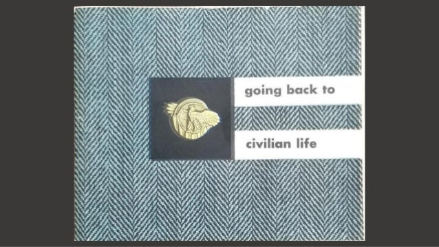 Going Back to Civilian Life, 1945 Military Booklet