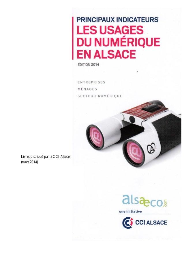 Pamphlet distribué par la CCI Alsace (mars 2014) Livret distribué par la CCI Alsace (mars 2014)