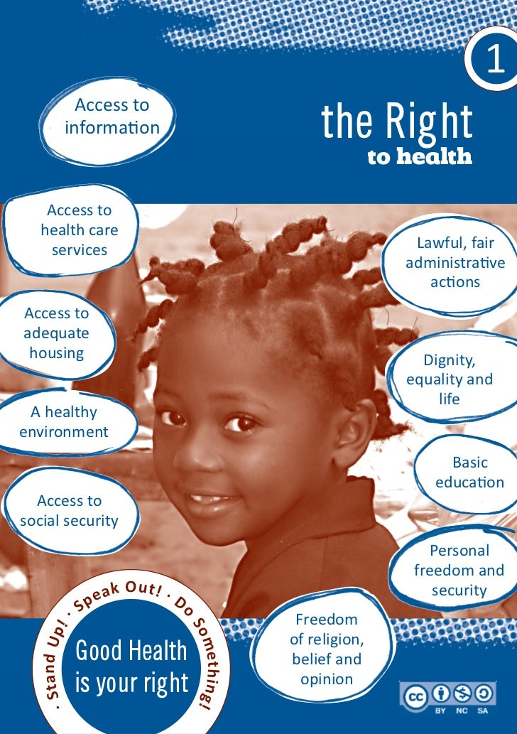 1          Access to        information                                the Right                                          ...