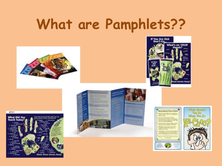 What are Pamphlets??<br />
