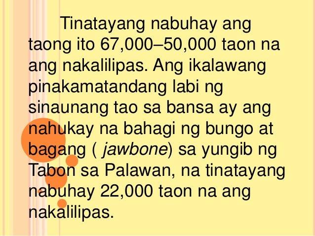 tirahan ng sinaunang pilipino Larawan ng mga sinau - tagalogca - i̇ngilizce çeviri ve   dil çifti:.
