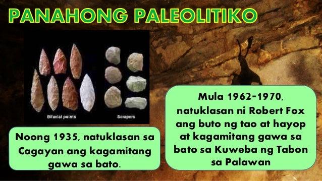 pamumuhay ng sinaunang pilipino Araling panglipunan: pamumuhay ng mga sinaunang pilipino 1 pamumuhay ng mga sinaunang pilipino 2 panahong paleolitiko (tinatayang mula 500 000–7000 bce).
