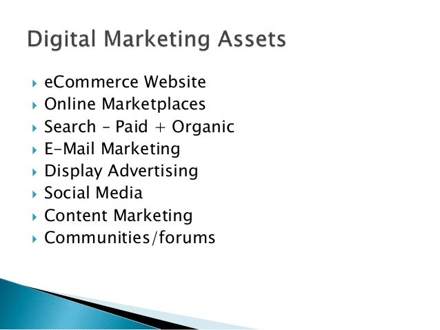 Healthcare products ecommerce digital marketing plan for Digital marketing materials