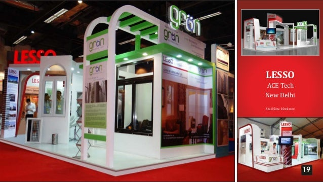 Exhibition Stall Size : Panache exhibitions profile