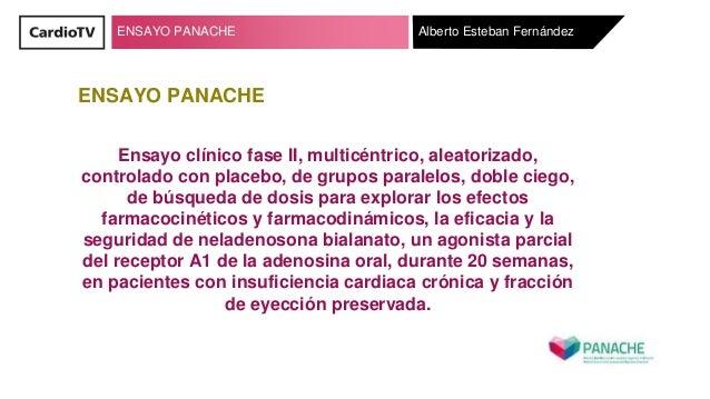 ENSAYO PANACHE ENSAYO PANACHE Ensayo cl�nico fase II, multic�ntrico, aleatorizado, controlado con placebo, de grupos paral...