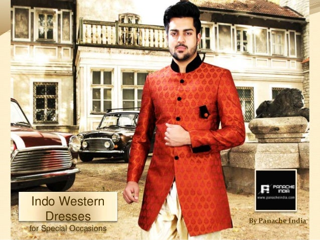 Panache India Indowestern Dresses Party Wear Indo Western