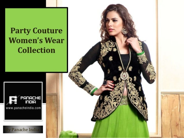 Panache India Party Couture Womens Suits Collection Womens Wear Online
