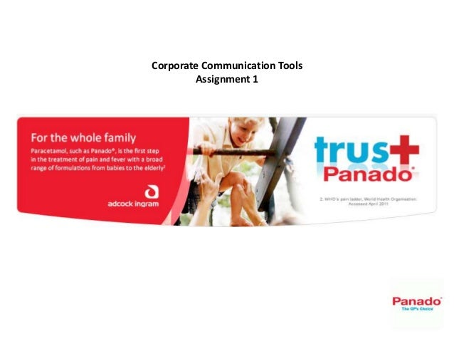 Corporate Communication Tools Assignment 1