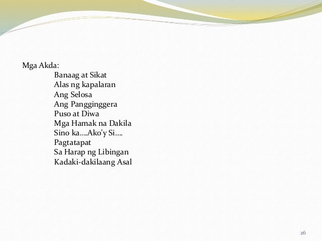 akoy makata Read ako'y isang makata from the story spoken words poetry by otakuzone by otakuzone (timothy seguban) with 36 reads spokenwordspoetrytagalog, hugot, randomto.