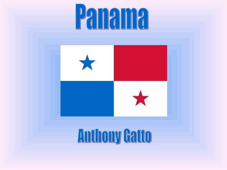 Panama  Anthony Gatto
