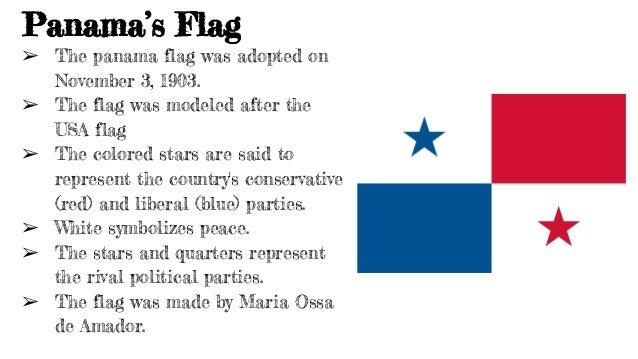 Panama Powerpoint In English - Panama flag
