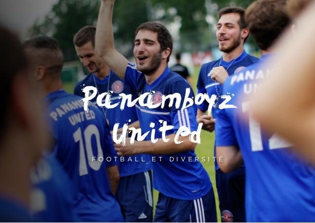 Panamboyz United F O O T B A L L E T D I V E R S I T É