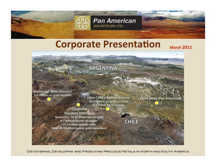 Discovering, Developing and Producing Precious Metals in North and South America