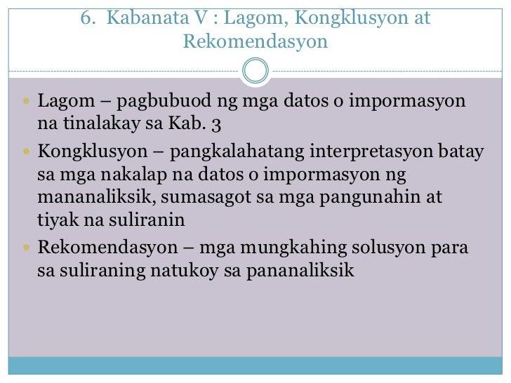 Kabanata 3 Ng Thesis Sa Filipino