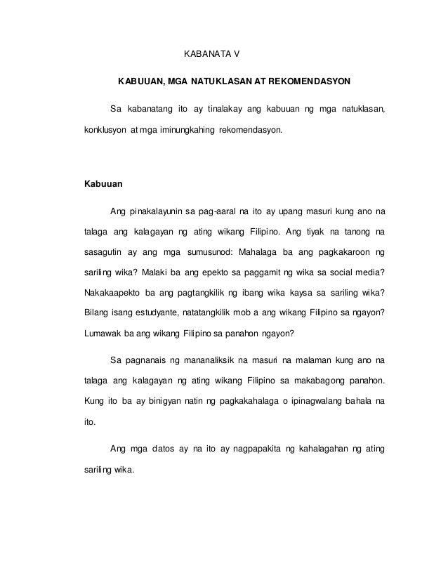 essay kahalagahan ng pagkakaroon ng sariling wika