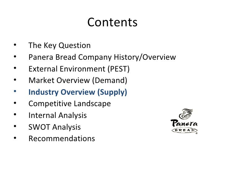 panera bread competitive strategy