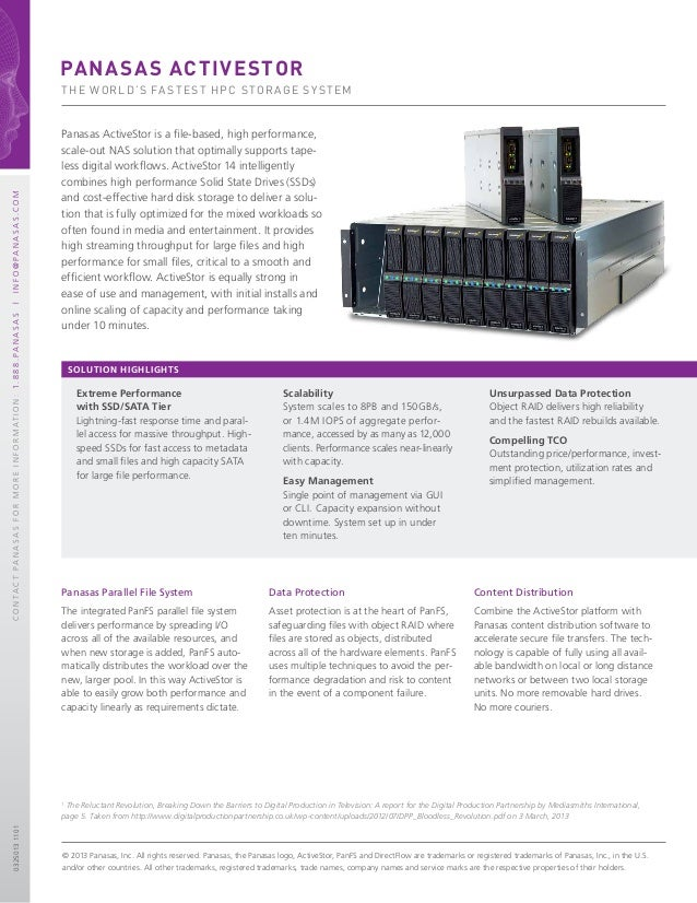 Extreme Performance with SSD/SATA Tier Lightning-fast response time and paral- lel access for massive throughput. High- sp...
