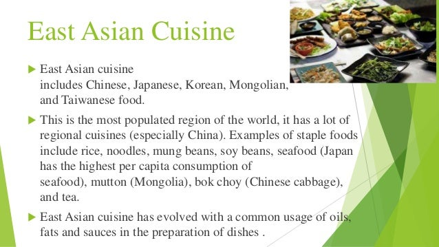 East Asian Cuisine