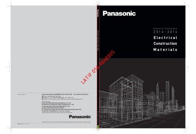 Tremendous Panasonic Cataloge Wiring Digital Resources Cettecompassionincorg