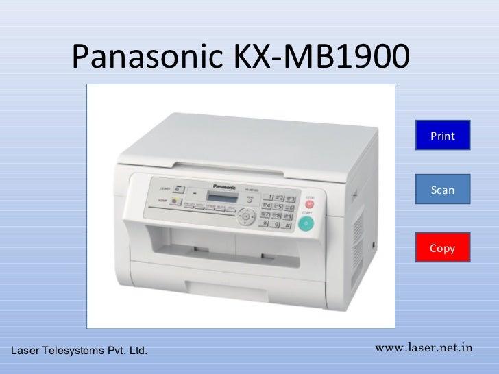 PANASONIC KX-MB1900CX TÉLÉCHARGER DRIVER IMPRIMANTE