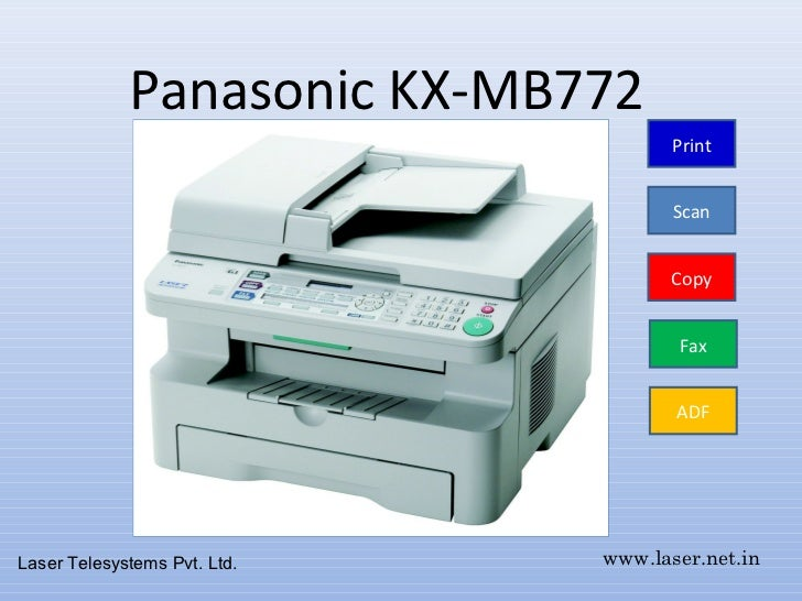 PANASONIC KX-MB772CX SCANNER TREIBER WINDOWS XP