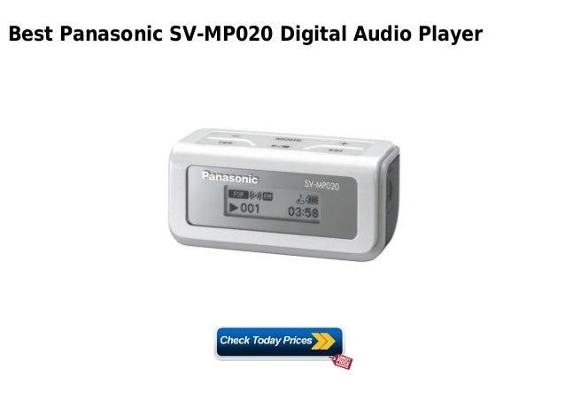 PANASONIC SV-MP020 DRIVER DOWNLOAD