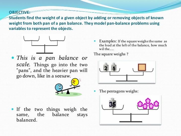 Number Names Worksheets : pan balance equations ~ Free Printable ...
