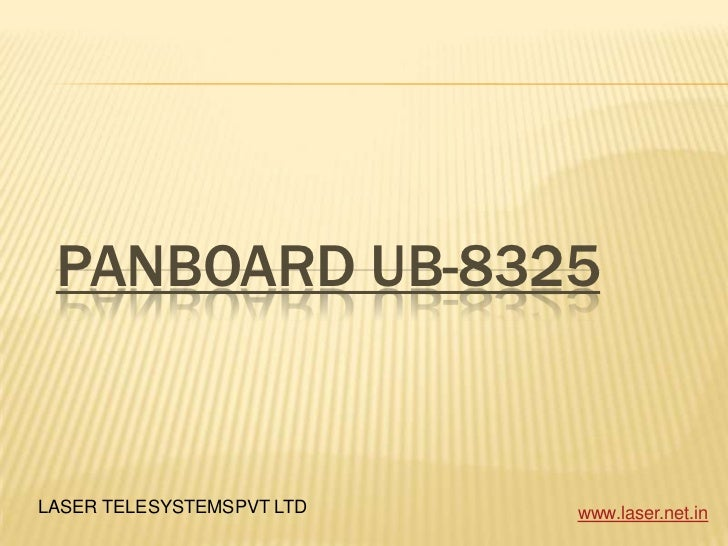 Panboard UB-8325