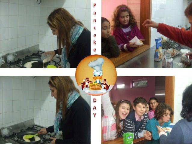 Pancake DAY 2013 - Teacher Andreia