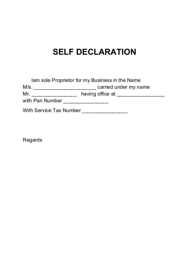 Declaration format akbaeenw pan card declaration letter format 1 altavistaventures Images