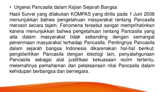 Pancasila dalam sejarah indonesia