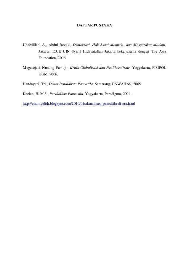 Pancasila Sebagai Identitas Nasional Serta Aktualisasi