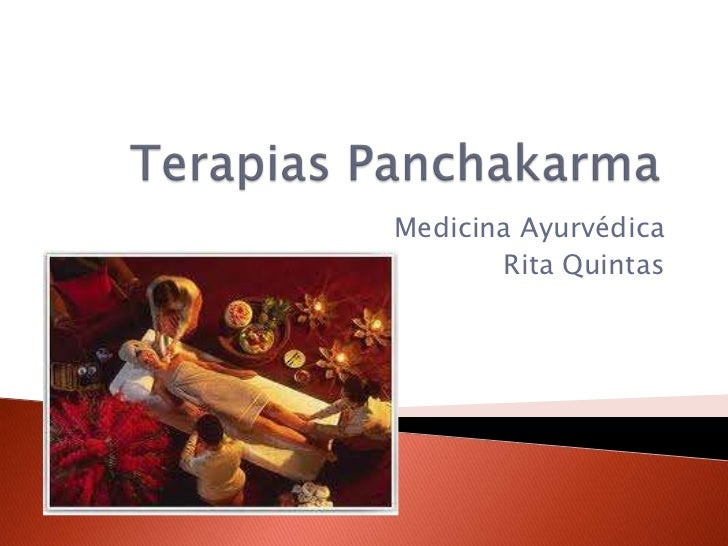 Medicina Ayurvédica       Rita Quintas
