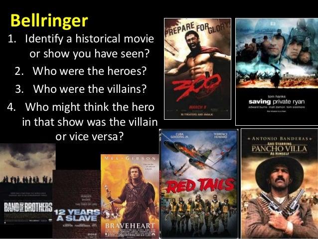 pancho villa pancho villa bellringer 1 identify a historical movie or show you have seen 2