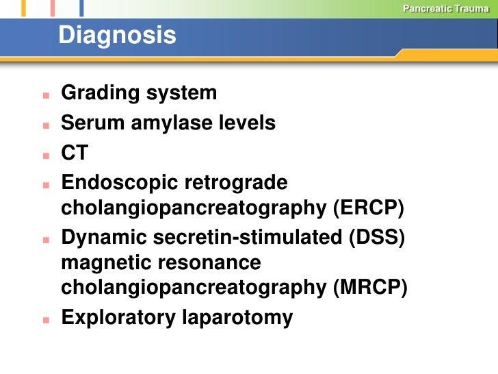 The Management of Pancreatic Trauma in the Modern Era Slide 3