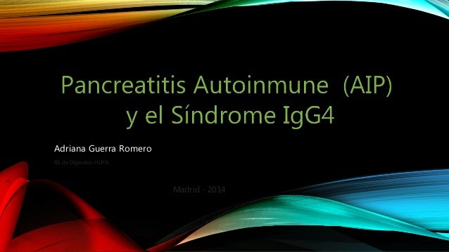 Adriana Guerra Romero R3 de Digestivo HUFA. Madrid - 2014
