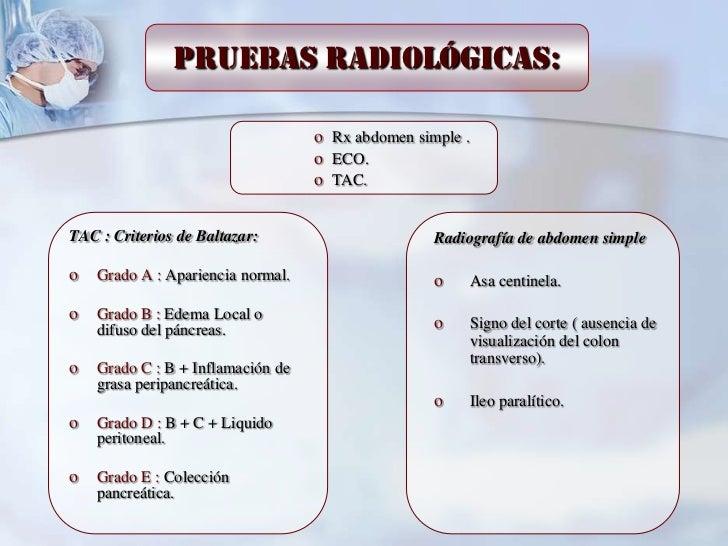 Pruebas radiológicas:                                   o Rx abdomen simple .                                   o ECO.    ...