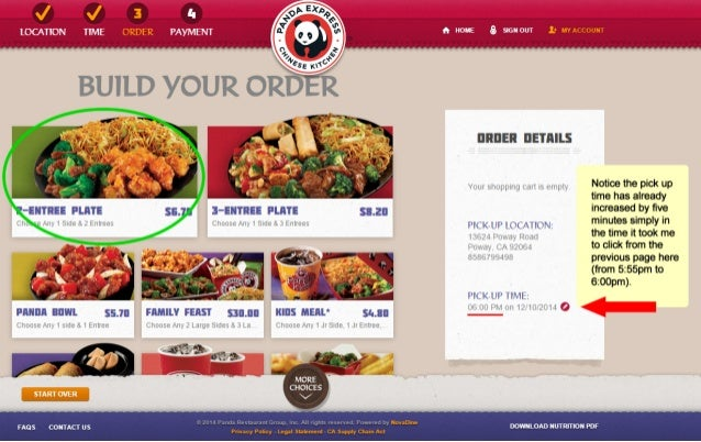 Panda Express also offers steamed vegetables as a side dish, but you can order steamed vegetables as your entrée, too. The restaurant's appetizers menu consists of five options. You can order chicken egg rolls, veggie spring rolls, cream cheese rangoons, crispy shrimp, or chicken potstickers.